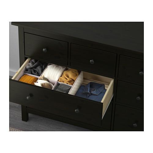 4. IKEA HEMNES drawer dresser